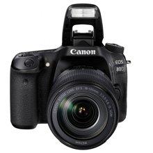 佳能(Canon)EOS 80D 单反套机(EF-S 18-135mm f/3.5-5.6 IS USM镜头)
