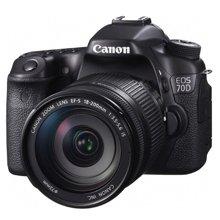 佳能(Canon)EOS 70D 单反套机 (EF-S 18-200mm f/3.5-5.6 IS 镜头)
