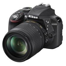 尼康(Nikon) D3300 单反相机套机(AF-S DX VR 18-105mm f/3.5-5.6G ED 防抖镜头)低噪点,近生活!入门单反,有它就够了!
