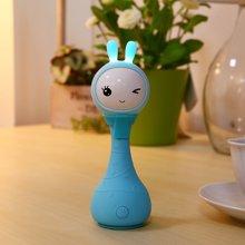 阿李罗火火兔R1手摇铃新生婴儿宝宝益智早教玩具0-1-3-6-12个月岁