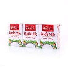 澳牧儿童成长牛奶(200ml*3)
