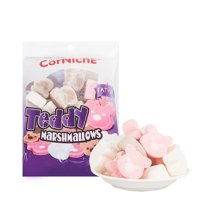 泰国进口 可尼斯牌泰迪棉花糖70g*4袋