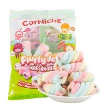泰国进口 可尼斯牌水果味酱夹心棉花糖70g*4袋