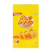 印尼进口零食 richeese丽芝士雅嘉奶酪玉米棒400g*2盒 那巴提芝士饼干