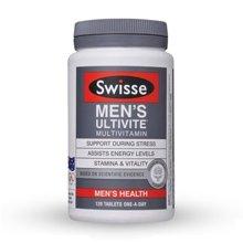 澳大利亚Swisse男性复合维生素 缓解压力(120粒)