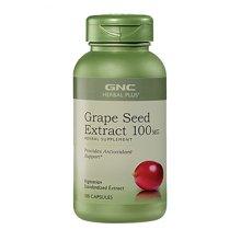 美国GNC健安喜 葡萄籽精华 100mg*100粒/瓶