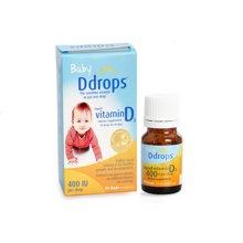 【香港直邮】加拿大Baby Ddrops婴儿童维生素 VD D3滴剂400IU*1瓶装