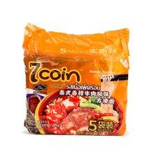七咔呢泰式香辣牛肉风味方便面(350g)