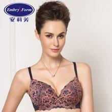 安莉芳品牌女士内衣3/4厚杯立体蕾丝性感聚拢文胸EB1698