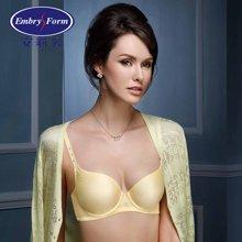 安莉芳女士内衣V型无痕厚杯聚拢光面性感文胸EB1670