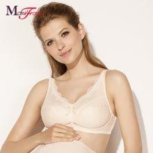 曼妮芬女士孕妇文胸 全罩杯无钢圈棉质舒适大杯薄款内衣 20840256