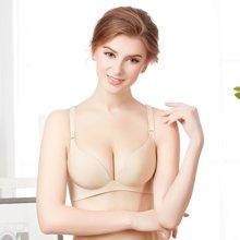 缔五季 厚薄款一片式无痕无钢圈文胸性感聚拢小胸罩舒适少女内衣 12#®