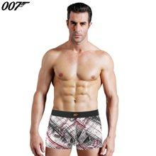 007男士内裤凉爽透气冰丝平角裤低腰无痕性感个性四角裤超薄青年LW3415