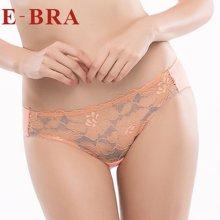 安莉芳旗下E-BRA专柜正品曼妙蕾丝系列女内裤中低腰三角裤K21491