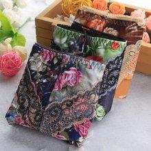 XZYD仙子宜岱三条包吸湿透气性感提臀印花中腰女士三角裤