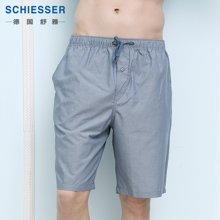 Schiesser/舒雅 纯棉梭织男士家居服中裤 39-10972P
