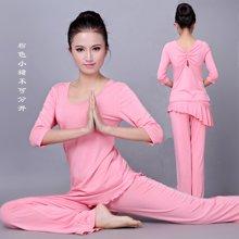 兰博伊人新款女士瑜伽服 套装显瘦瑜珈舞蹈服健身练功愈加服正品L101+B061