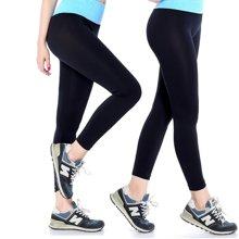 兰博伊人瑜伽小脚紧身显瘦休闲裤 专业健身房跑步运动瑜伽九分裤速干裤:JL9003