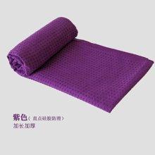 兰博伊人加厚硅胶铺巾瑜伽健身运动毯子 防滑无味瑜珈垫巾直点硅胶防滑/63x183
