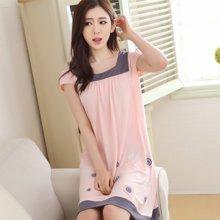 极有家棉短袖韩版性感可爱全棉女士家居服.N171009