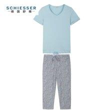 Schiesser/舒雅 女士七分裤套装 41/11408H