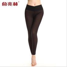 俞兆林 高度御寒显瘦打底裤 双层加厚加绒 女士中高腰保暖裤 女士 YZL520021