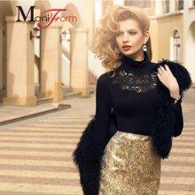 曼妮芬中厚保暖套装*品质羊绒20210125