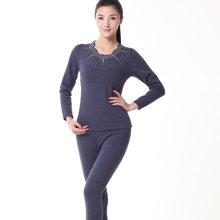 俞兆林实体店同款羊绒护膝风尚保暖内衣 烫钻女士保暖内衣 STYZL126425
