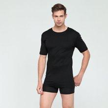 Fragi 男士全棉圆领短袖T恤 精梳丝光棉 汗衫打底衫 意大利制造原装进口 1340