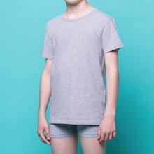 Fragi 男童纯棉圆领短袖T恤 罗纹精梳Mako棉可外穿汗衫 意大利制造原装进口 052