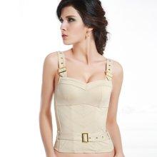 尼特名 女士修身塑身型时尚可外穿式百搭骨衣小胸衣29C-1