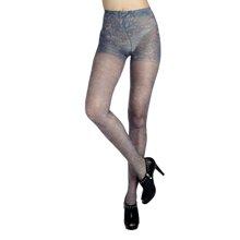 浪莎性感诱惑秀腿丝袜时尚个性女式丝袜连裤袜防勾丝性感印花加档潮流打底袜BZ68834