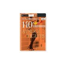 【香港直邮】日本厚木ATSUGI TIGHTS发热袜子连裤袜丝袜140D*2双装(有两种颜色黑色、肉色)