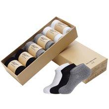 007大防臭袜时代男士女士通用款均码精梳棉商务袜子吸汗透气短袜春夏季防臭袜子WFC002
