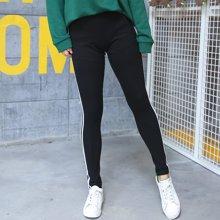 XIMANU 大码休闲裤高腰弹力打底裤小脚裤大码下装200斤大码女装X028