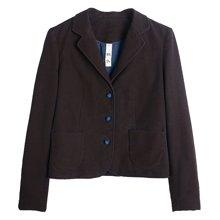 牧衣原创设计女装女士复古春季新款修身小西装时尚短款外套 圆观16ywm411