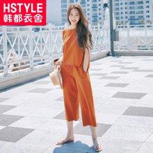 韩都衣舍17韩版女夏运动套装YQ7794莯0525