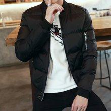 史克维斯2016冬季新款皮棉衣男外套青年修身棉袄韩版潮加厚休闲棉服M07