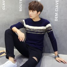 史克维斯针织衫 2016秋季新款毛衣男士长袖t恤男装打底上衣服M302