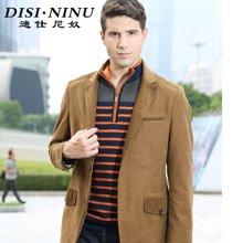 迪仕尼奴新款商务休闲西服男士西装外套中年男装便服单西8065W