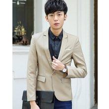 魔力怪车 春秋装新款韩版青年小西服修身英伦休闲正装外套