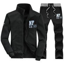 史克维斯男士春季2016新款卫衣青少年季薄款运动套装外套上衣服春装潮STD13
