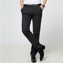 史克维斯休闲裤新款春季商务男装时尚修身长裤男K6301