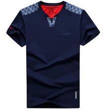 NIAN JEEP短袖T恤夏季男士圆领半袖男装上衣服宽松大码薄款体桖衫
