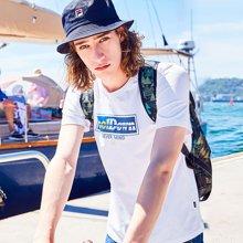 AMH韩版男装夏装2018新款潮流青年时尚印花套头短袖T恤男NZ8128燊