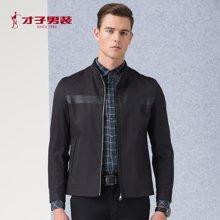 TRiES-才子男装新款新品男士青年时尚休闲立领修身夹克外套2266E3622