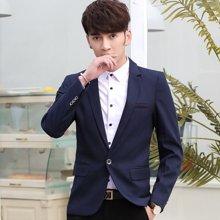 花花公子贵宾 2018四季新款韩版休闲青少年小西装男士修身小西服外套上衣