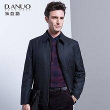 狄亚诺 冬季新款商务休闲男士翻领羊毛棉衣 棉服外套中年男 230517