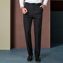 卓狼商务男士西服裤 男士长裤子黑色西装裤男裤正装裤K16092