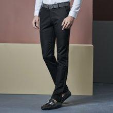 卓狼秋季新款男士休闲裤直筒长裤子中年商务厚款透气西装裤K5818